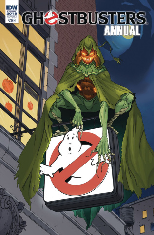 Ghostbusters Annual 2018 (Schoening Cover)