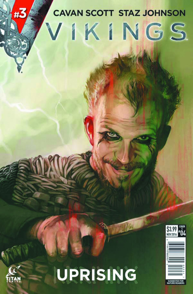 Vikings: Uprising #3 (Caranfa Cover)