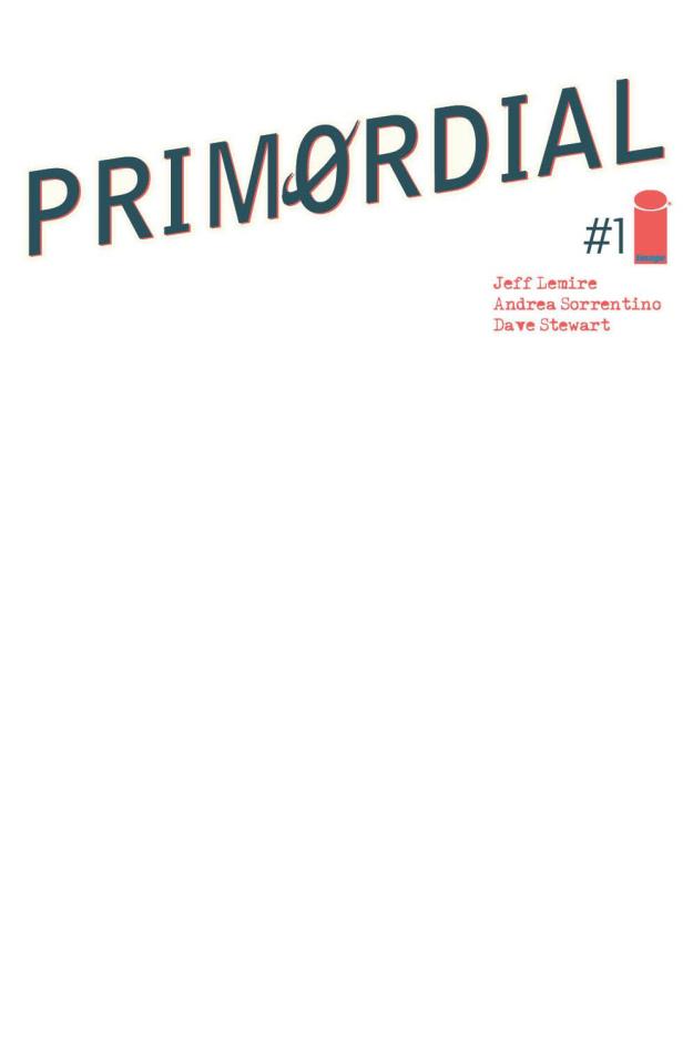 Primordial #1 (Blank Cover)