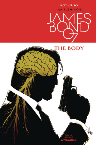 James Bond: The Body #2 (Casalanguida Cover)