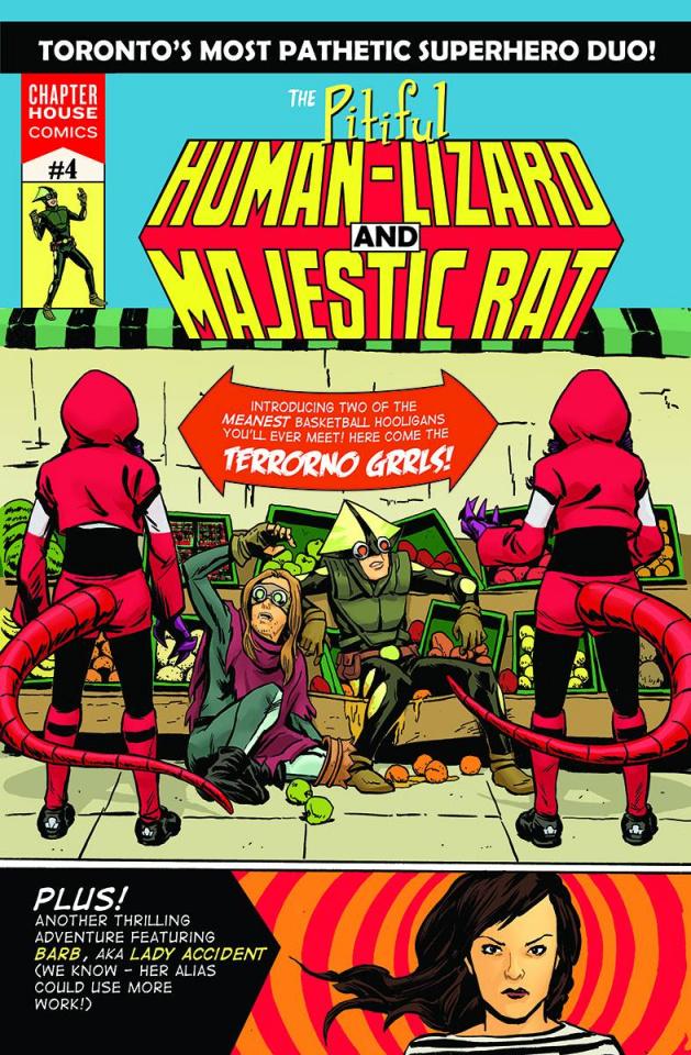 The Pitiful Human Lizard #4