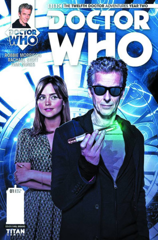Doctor Who: New Adventures with the Twelfth Doctor, Year Two #1 (Brooks Subscription Photo Cover)