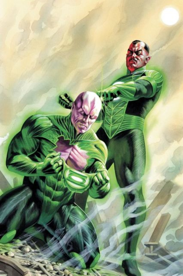 The World of Flashpoint: Green Lantern