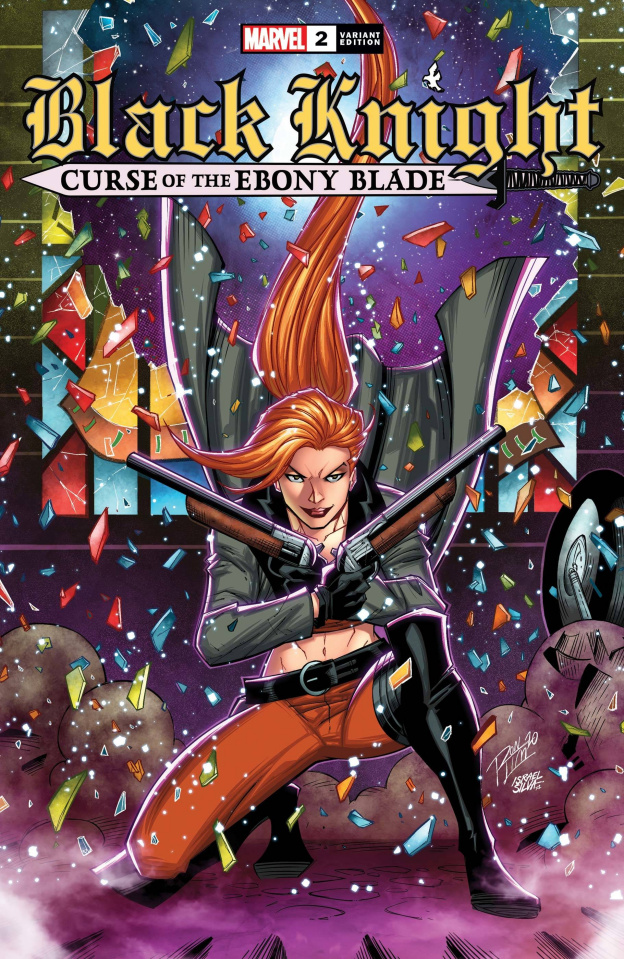 Black Knight: Curse of the Ebony Blade #2 (Ron Lim Cover)