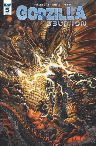 Godzilla: Oblivion #5 (10 Copy Cover)