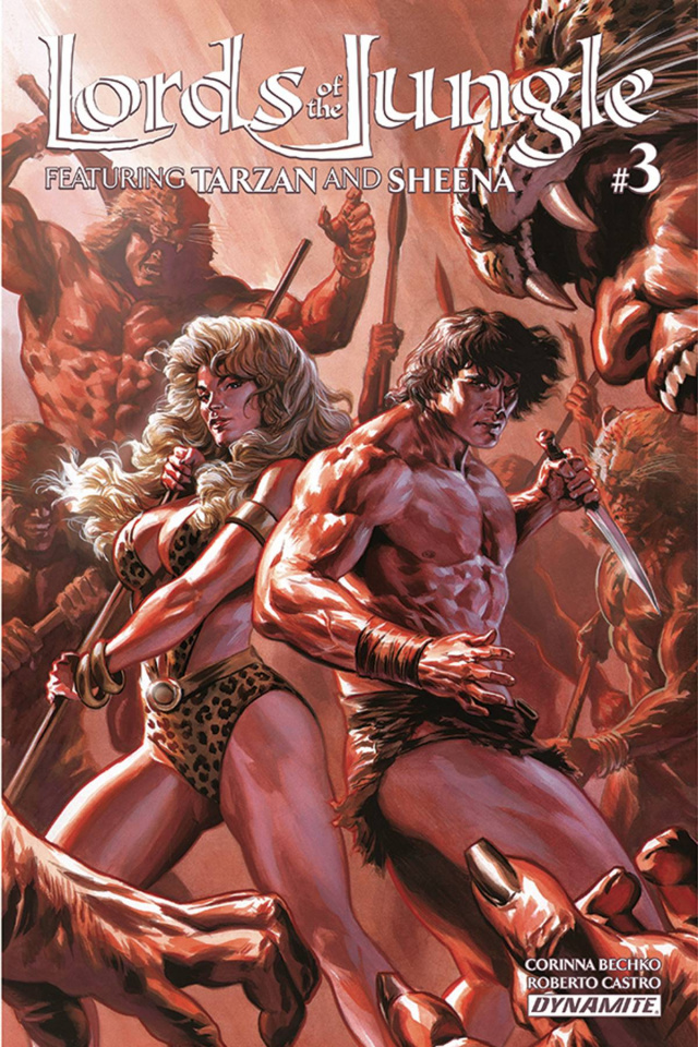Lords of the Jungle #3 (Massafera Cover)
