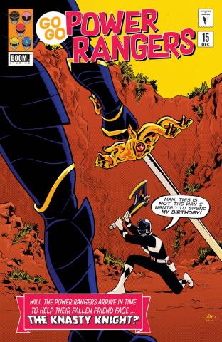 Go, Go, Power Rangers! #15 (Mok Cover)