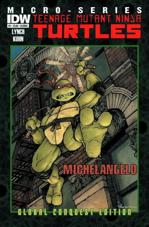 Teenage Mutant Ninja Turtles Micro-Series #2: Michelangelo