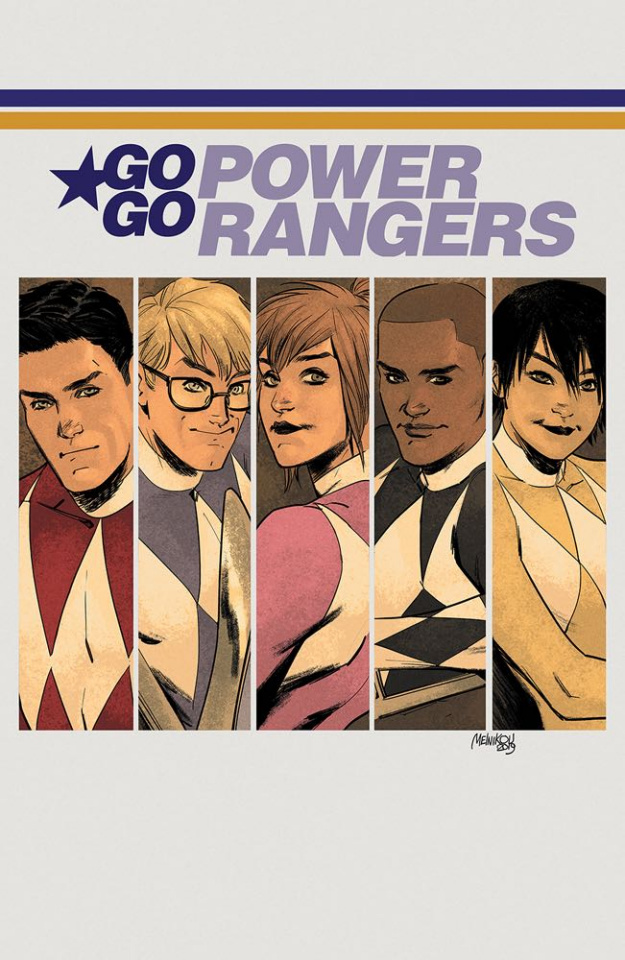 Go, Go, Power Rangers! #22 (20 Copy Melnikov Cover)