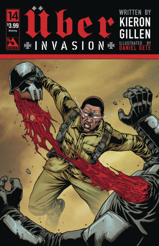 Über: Invasion #14 (Blitzkreig Cover)