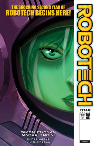 Robotech #13 (Quijada Cover)
