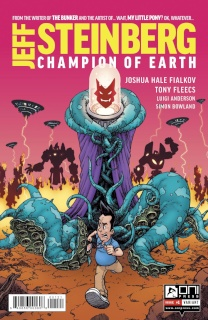 Jeff Steinberg: Champion of Earth #1 (Burnham Cover)