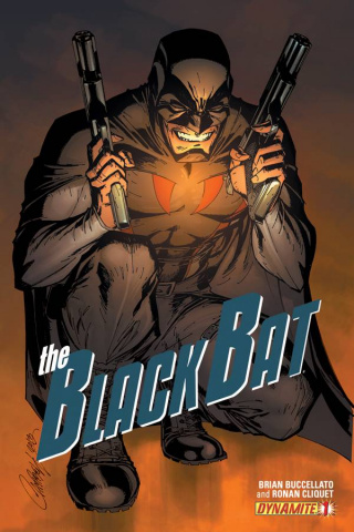 The Black Bat #1 (Campbell Cover)