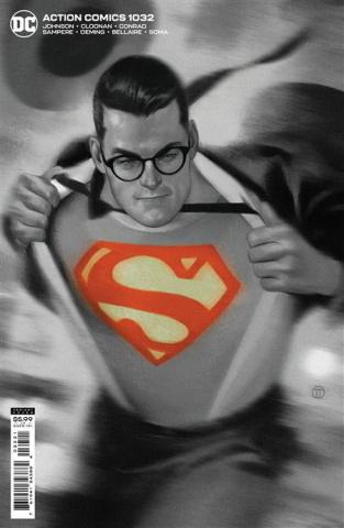 Action Comics #1032 (Julian Totino Tedesco Card Stock Cover)