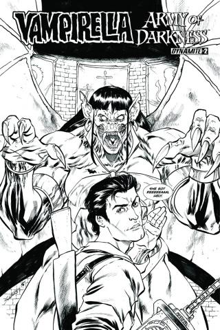 Vampirella / Army of Darkness #2 (10 Copy Cover)
