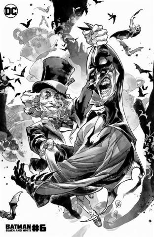 Batman: Black & White #6 (Yasmine Putri Mad Hatter Cover)