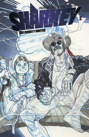 Sharkey, The Bounty Hunter #2 (Sketch Bianchi Cover)