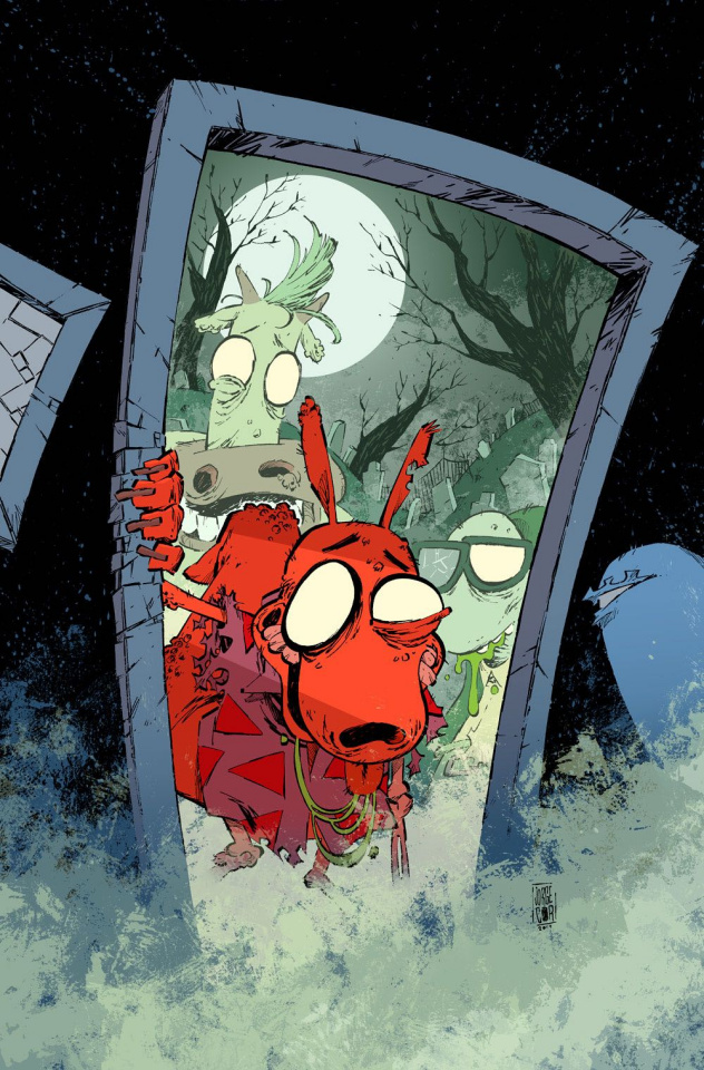Rocko's Modern Afterlife #1 (Corona Cover)
