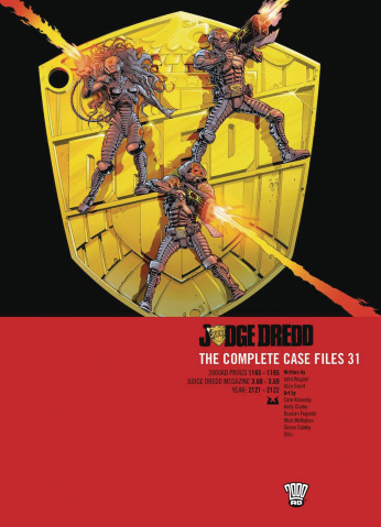 Judge Dredd: The Complete Case Files Vol. 31