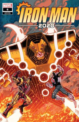 Iron Man 2020 #6 (Ron Lim Cover)