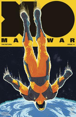 X-O Manowar #14 (Allen Cover)