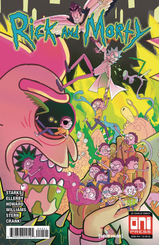 Rick and Morty #44 (Scott Cover)