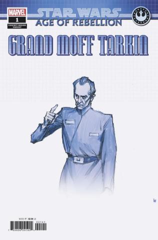 Star Wars: Age of Rebellion - Grand Moff Tarkin #1 (Concept Cover)
