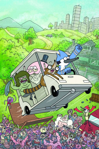 Regular Show #1 (Preorder Cover)
