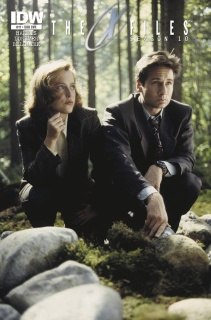 The X-Files, Season 10 #17 (Subscription Cover)
