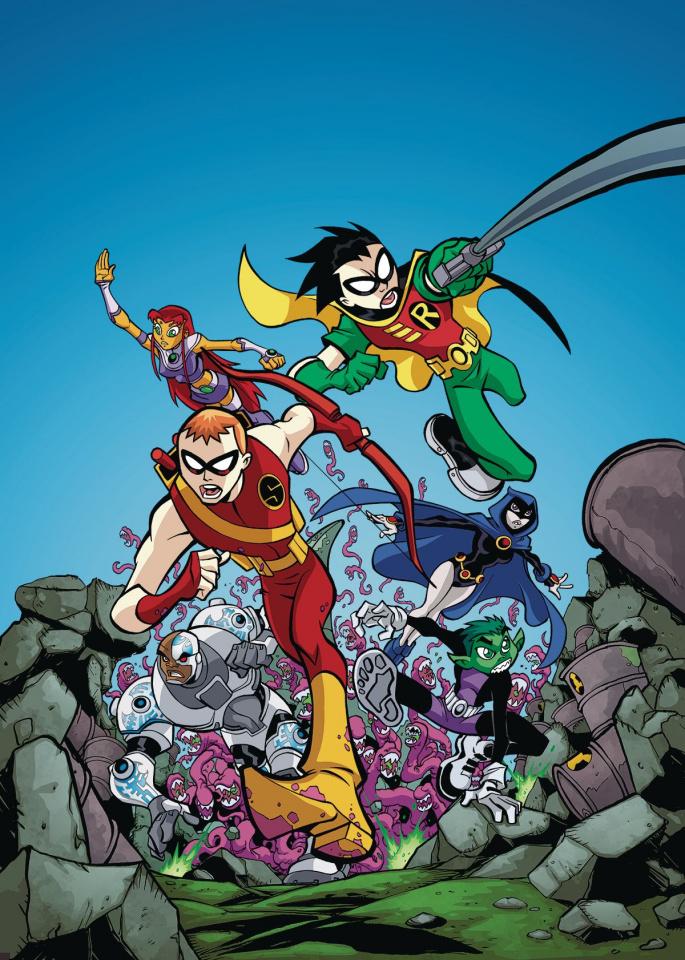 Teen Titans: Go Bring It On!