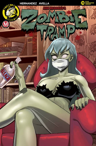 Zombie Tramp #74 (McComb Cover)