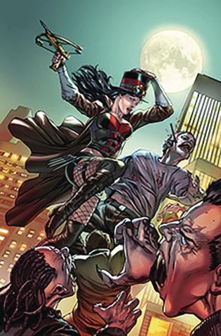 Van Helsing: The Sword of Heaven #1 (Vitorino Cover)