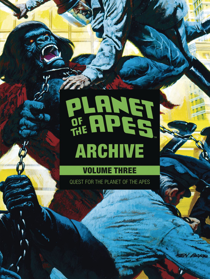 Planet of the Apes Archive Vol. 3