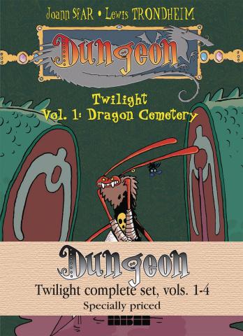 Dungeon: Twilight Vols. 1-4 (Complete Set)