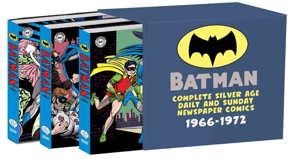 Batman: The Silver Age Newspaper Comics (Slipcase Edition)