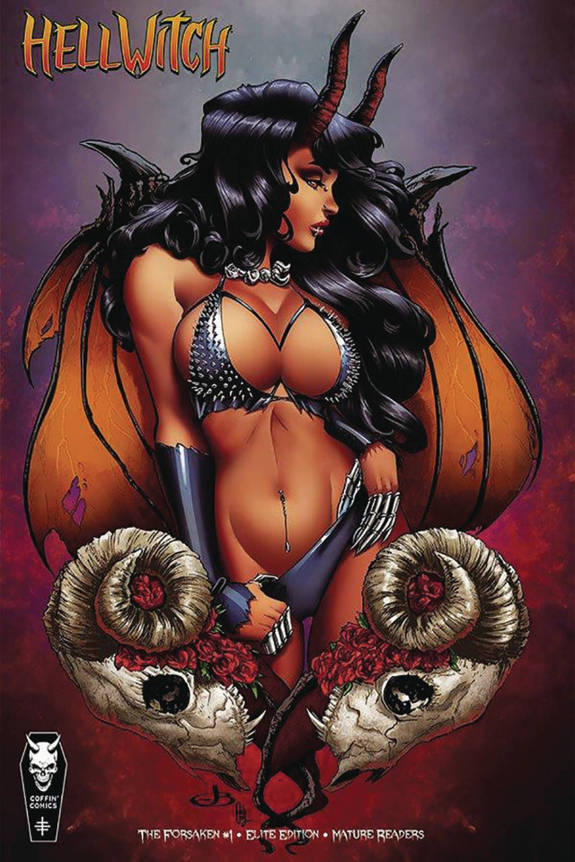 Hellwitch: The Forsaken #1 (10 Copy Broomall Cover)