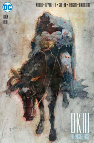 Dark Knight III: The Master Race #8 (Sienkiewicz Cover)