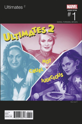 The Ultimates 2 #1 (Hulett Hip Hop Cover)