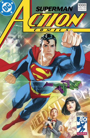 Action Comics #1000 (1980s Cover)