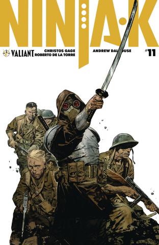 Ninja-K #11 (20 Copy Programme Delatorre Cover)