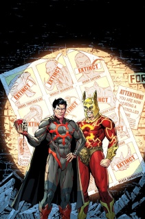 E.V.I.L. Heroes #6 (Kivela Cover)