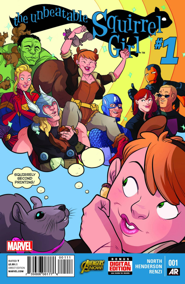 The Unbeatable Squirrel Girl #1 (2nd Printing)