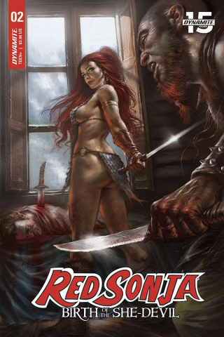Red Sonja: Birth of the She-Devil #2 (Parrillo Cover)