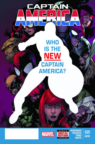 Captain America #25 (2nd Printing)