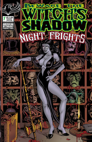 Beware the Witch's Shadow: Night Frights #1 (Parsons Cover)