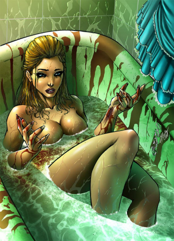 Grimm Fairy Tales: Wonderland - Down the Rabbit Hole #1 (Cafaro Cover)