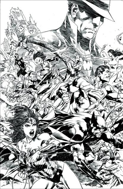 Justice League: Trinity War, Director's Cut #1
