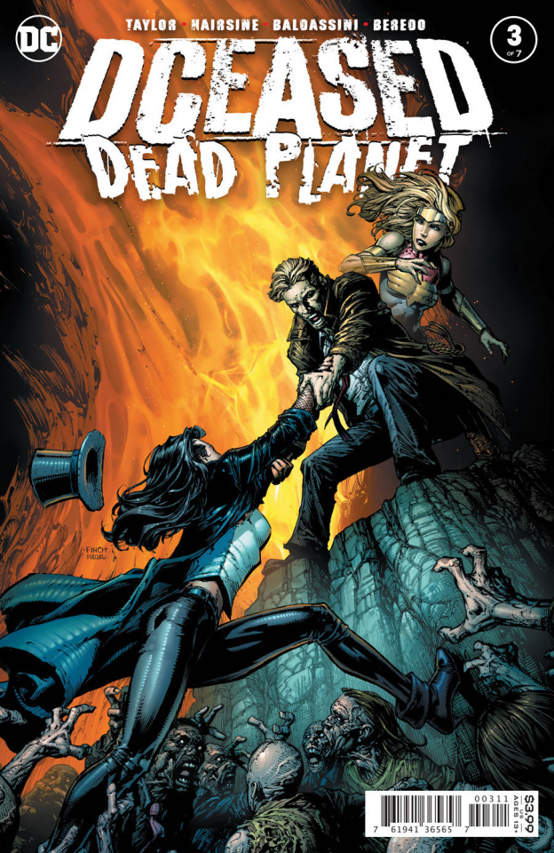 DCeased: Dead Planet #3 (David Finch Cover)