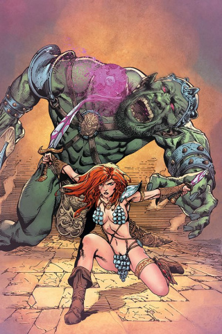 Red Sonja #9 (11 Copy Castro Virgin Cover)