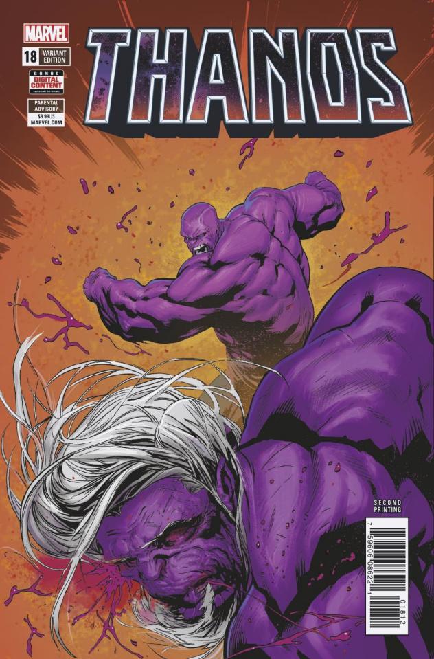 Thanos #18 (Shaw 2nd Printing)